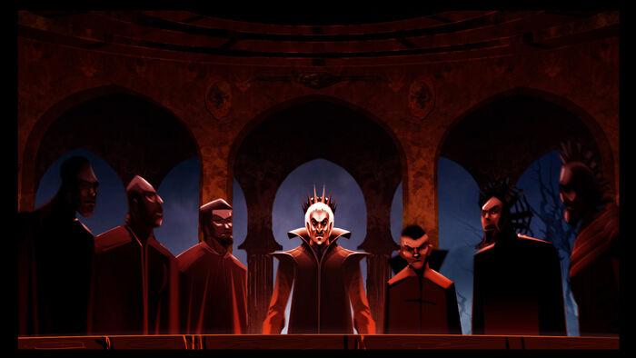 Black Rose Faction Secret Meeting (Night)