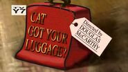 Cat Got Your Luggage Title Card