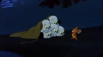 Tom & Jerry Puppies In The River Cartoon World