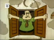 The Supercape Caper - Man closing window