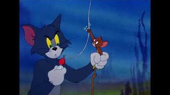 Underwater Cat Tom & Jerry Cartoon World