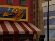 City Dump Chumps - Pizza monster sign