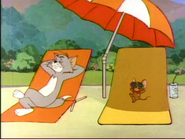 An Ill Wind - Tom and Jerry relaxing close up