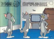 A Yabba Dabba Doo Celebration Tom Model Sheet 1