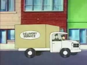 Watch Out, Watch Dog - Delivery Service truck