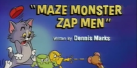 Maze Monster Zap Men