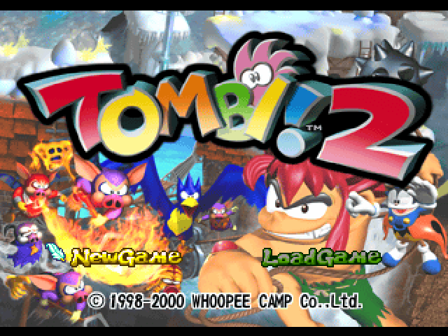 File:Tombi! 2 Title Screen.png