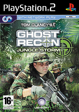 Ghost Recon Jungle Storm PS2 Cover