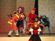 Maen Stage Show apperance
