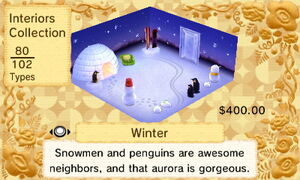 Winter Interior