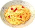 Spaghetti peperoncino