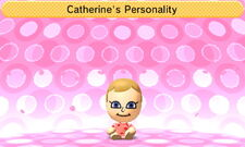 Catherine's Personality