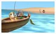 Ichigo and Yurika FISHING ON THE BEACH