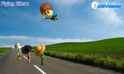 MiiNews FlyingMii