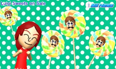 Mii Sweets on Sale
