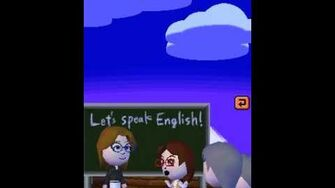 Tomodachi Collection English Lesson
