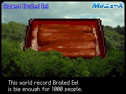 Biggest Broiled Eel