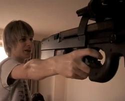 Tim and gun