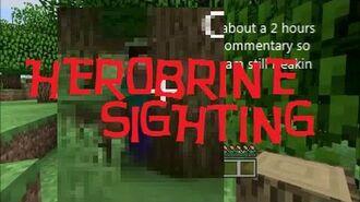 Minecraft Xbox 360 - Herobrine sighting (TU17)