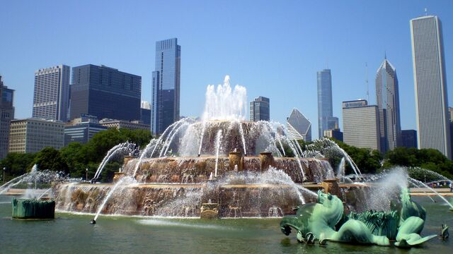File:Real Chicago Fountain.jpg