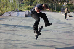 Ian 180 heelflip