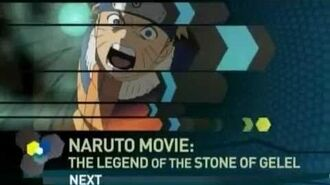Toonami Naruto-Legend of the Stone of Gelel Promo