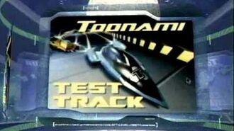 Toonami Test Track Promo