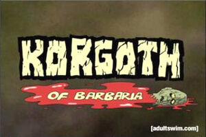 Korgoth title card