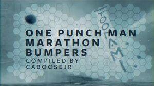 One Punch Man Marathon - Toonami Bumpers