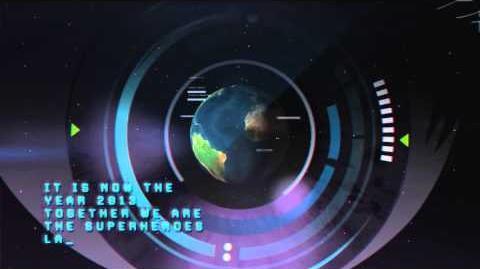 Toonami Asia - NAMI and the Age of Superheroes Origin