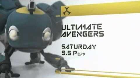 Ultimate Avengers Short Toonami Promo