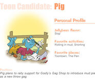 Nominee pig