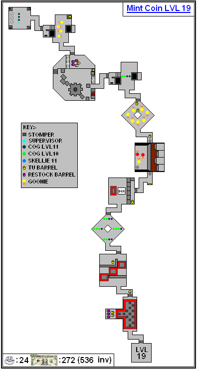 Mint Maps - Coin - LVL19