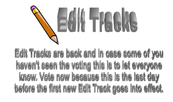 Edit Tracks