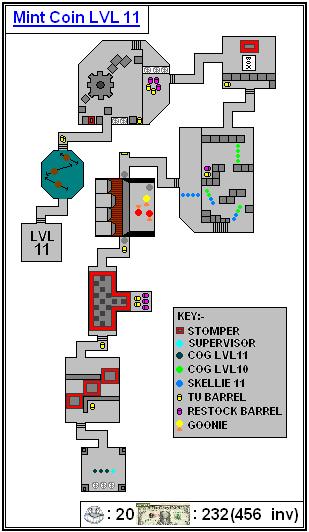 Mint Maps - Coin - LVL11