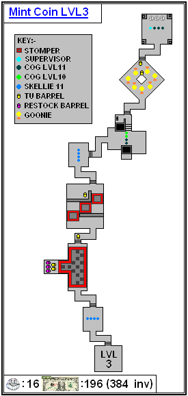 Mint Maps - Coin - LVL03