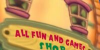 All Fun and Games Shop
