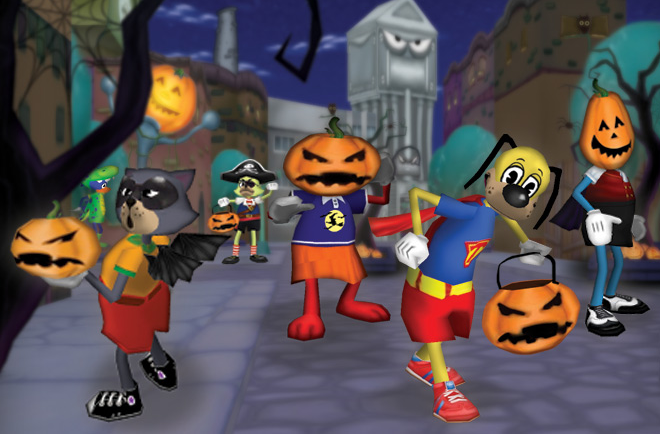 Time for Toontastic Trick-or-Treating