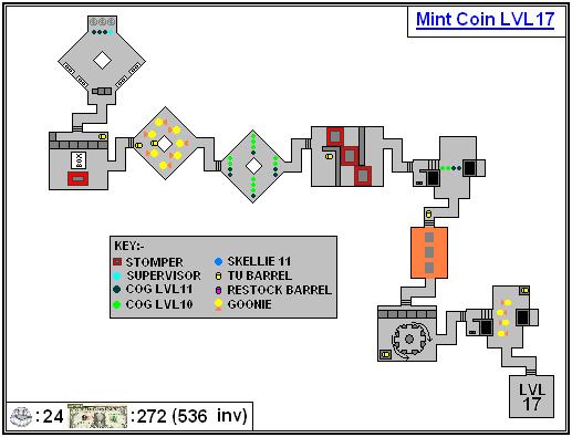 Mint Maps - Coin - LVL17