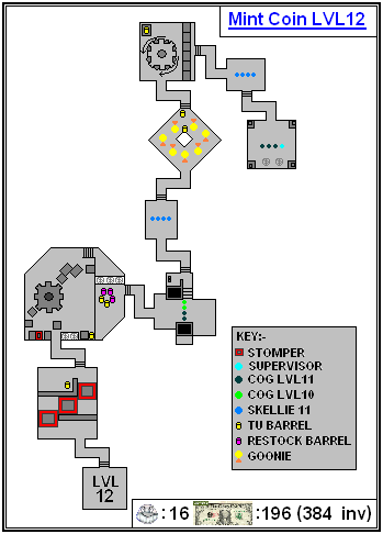 Mint Maps - Coin - LVL12