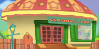 Toontown Central clothing store