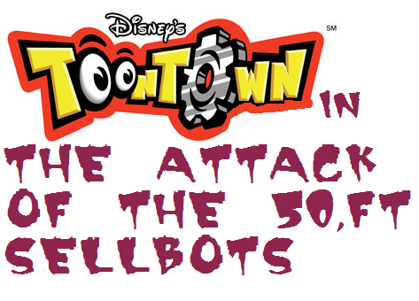 File:Toontown Attack of the 50.ft sellbots logo.png