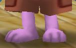 Very short legs