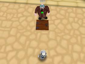 Trapdoor deployed