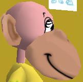 File:Side normal head large muzzle monkey head.jpg