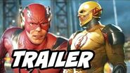 The Flash Injustice 2 Trailer Gameplay Reverse Flash and Super Moves