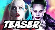 Suicide Squad Harley Quinn and The Joker Teaser and Sequels Update