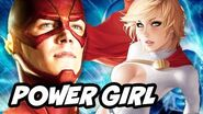 The Flash Season 2 Power Girl and Black Canary Explained