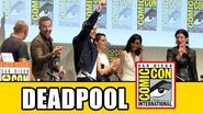 Deadpool Comic Con Panel - Ryan Reynolds, Morena Baccarin, Gina Carano, T.J