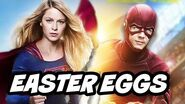 The Flash Season 2 Supergirl Crossover Easter Eggs